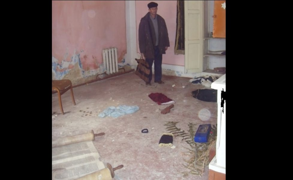 Antisemitismo. Vándalos destrozaron una sinagoga en Moldavia