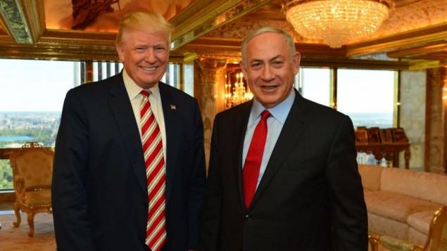 Gran expectativa por el encuentro entre Netanyahu y Trump