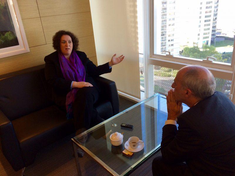 """Entrevista. Embajadora de Israel en Uruguay: El asesinato de Fremd fue """"un llamado de atención a la sociedad uruguaya"""""""