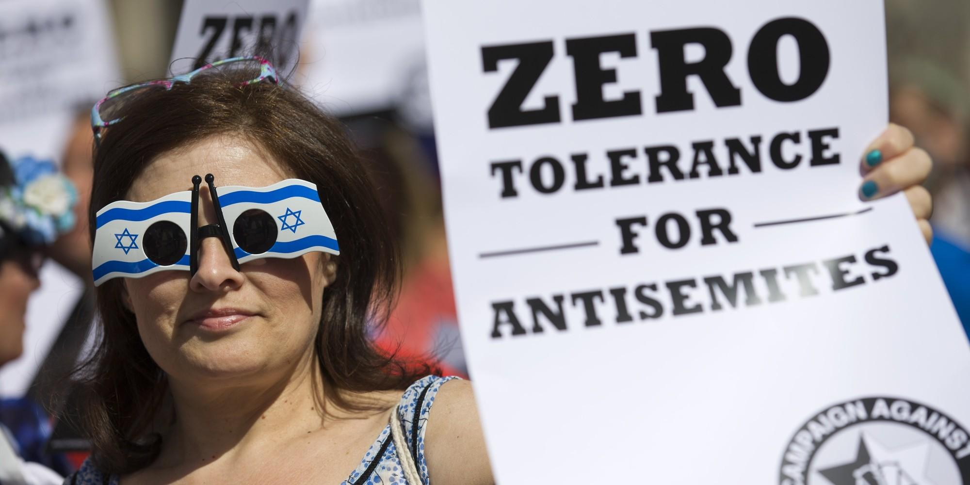 BRITAIN-ISRAEL-JEWS-PROTEST-ANTI SEMITISM