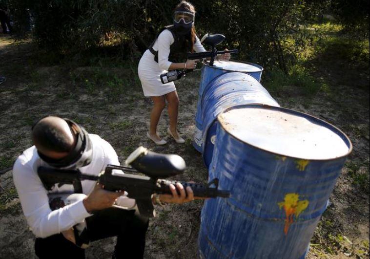Las lesiones en los ojos por practicar paintball son una tendencia alarmante en Israel