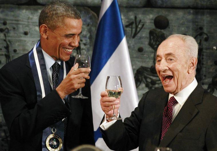 """Peres criticó a los israelíes que cuestionan a Obama: """"No nos dañaría decir gracias"""""""