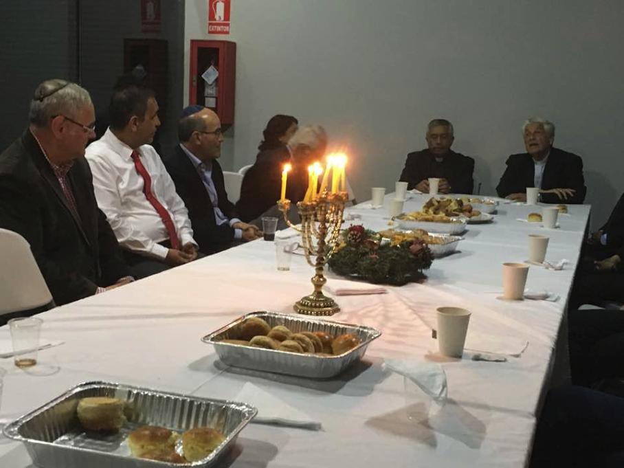 La Confraternidad Judeo Cristiana del Perú cerró sus actividades de 2016 con una reunión en la sinagoga 1870 de Miraflores