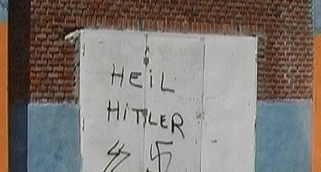 Se encontraron pintadas antisemitas en la ciudad argentina Paraná, Entre Ríos