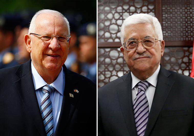 Israel. Rivlin dijo que se reuniría con Abbas para reiniciar las conversaciones de paz