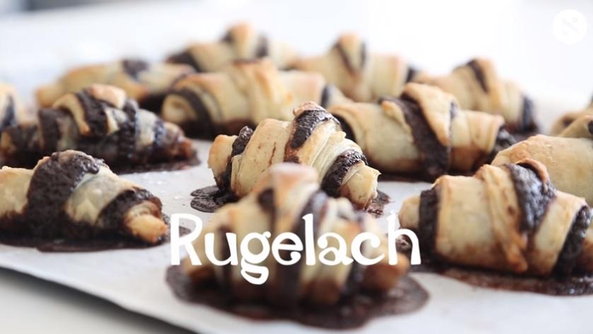 Gastronomía/Video. Cómo hacer rugelach de chocolate, uno de los bocados judíos favoritos