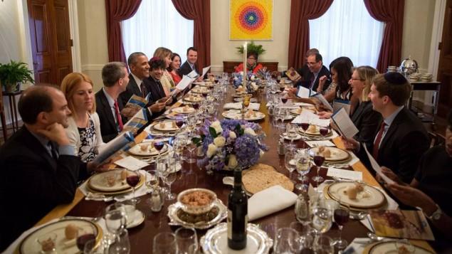 Este año Obama organiza un Seder tardío por Pésaj