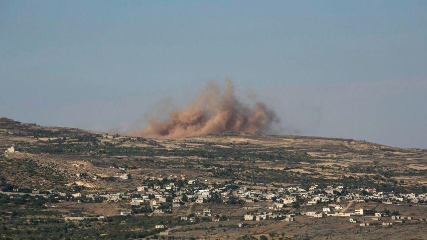 Israel atacó dos objetivos militares en Siria en respuesta a los ataques transfronterizos