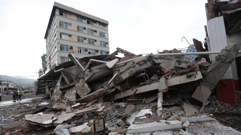 """Terremoto en Ecuador. Cónsul israelí en Quito: """"Queremos apoyar las zonas a las que todavía no se logra llegar"""""""