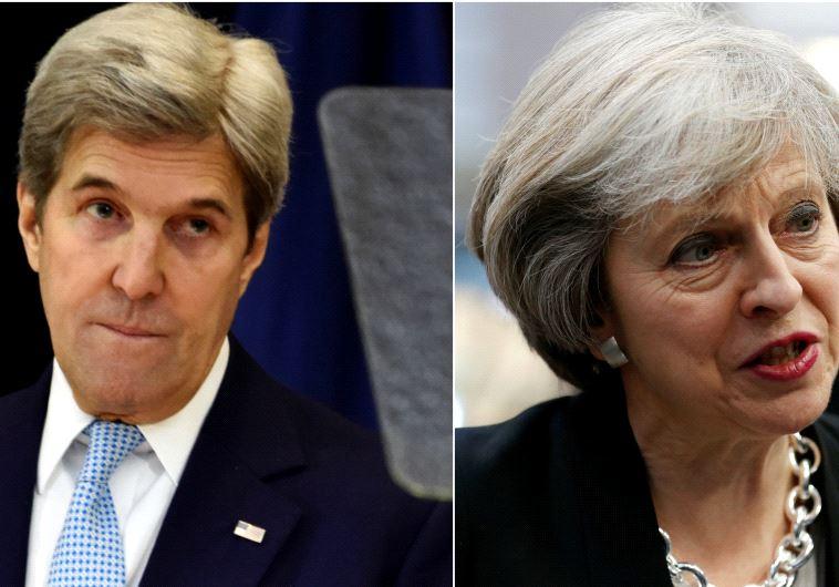 El Reino Unido criticó el discurso de Kerry