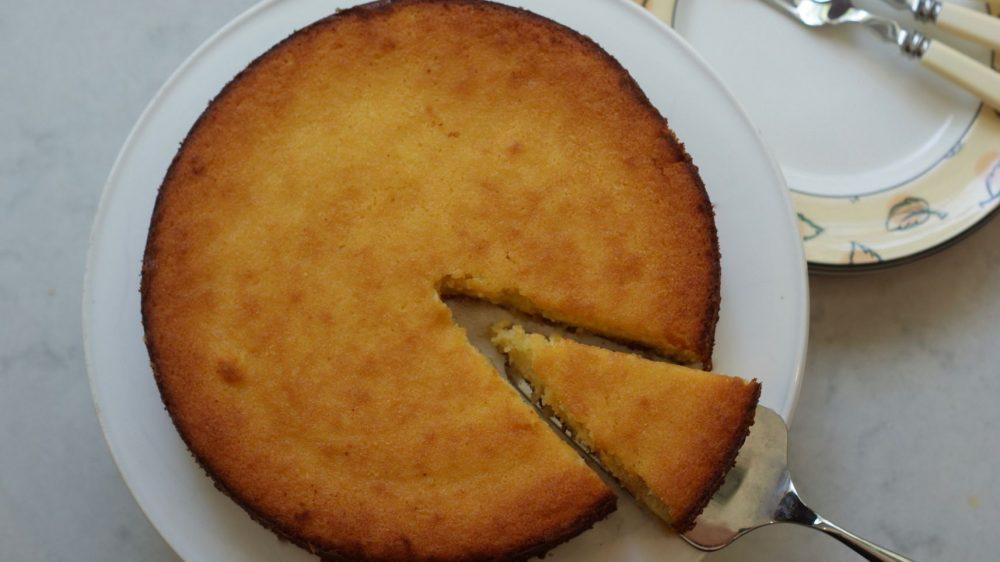 Gastronomía. Receta: Torta de mazapán y limón para Pésaj
