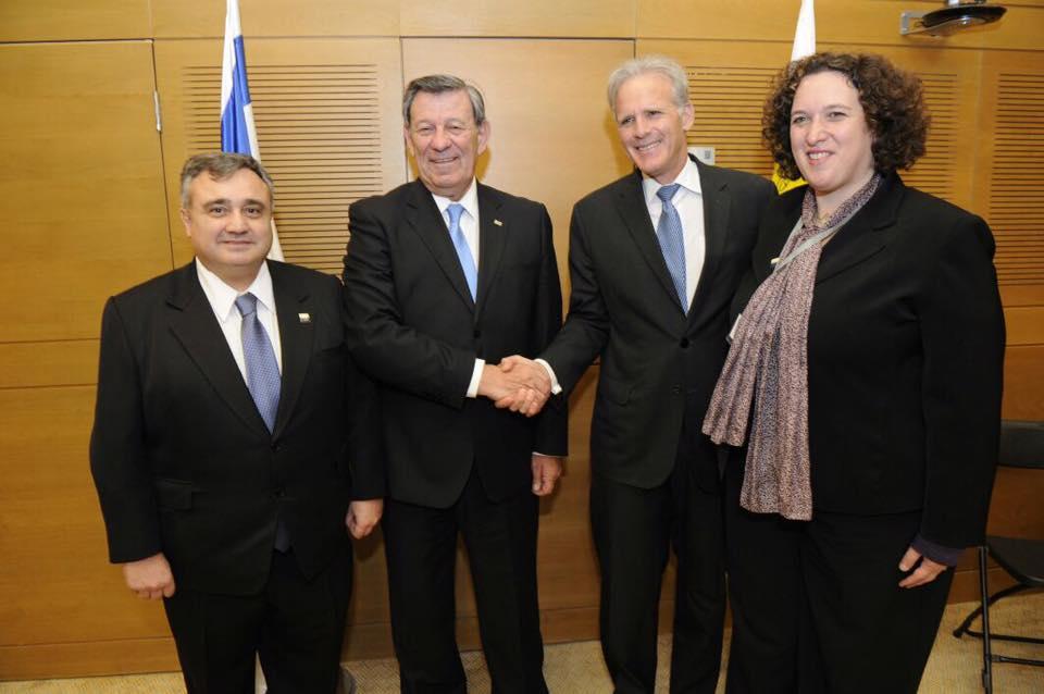 El canciller uruguayo realiza una visita oficial a Israel